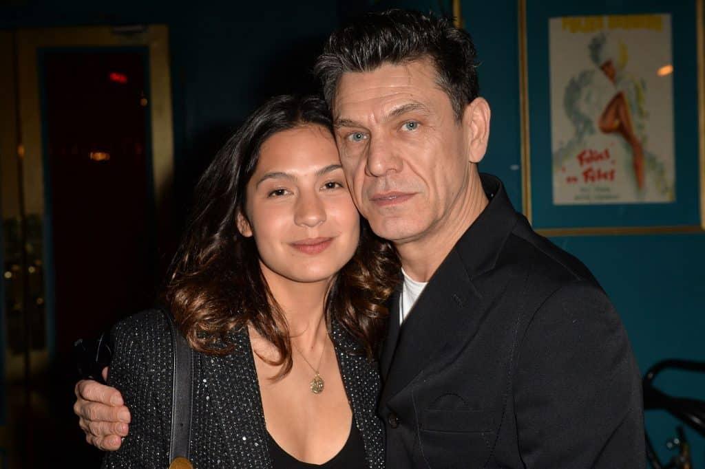Marc Lavoine et son épouse