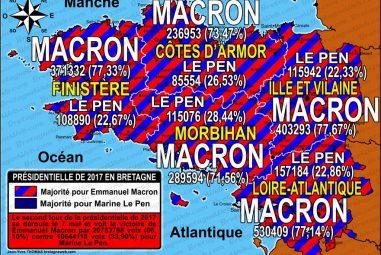 Elections présidentielles 2017 : qu'ont voté les Bretons ?